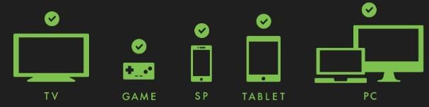 Huluに対応しているデバイス一覧