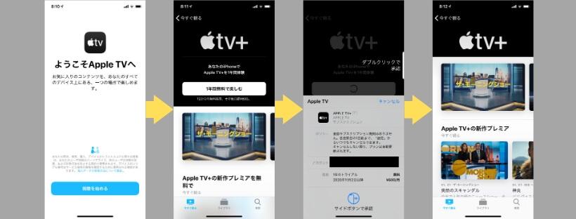Apple TV+登録方法